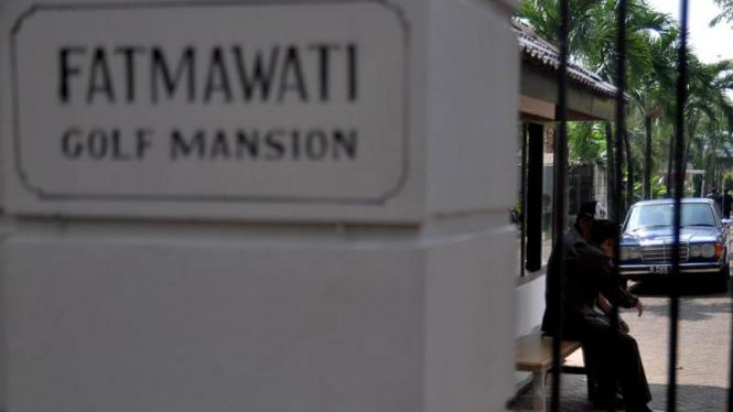 Kediaman Hatta Rajasa di komplek Fatmawati Golf Mansion
