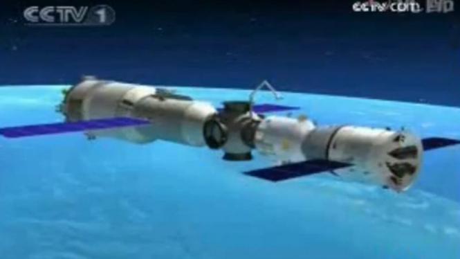 Stasiun luar angkasa China, Tiangong-1.