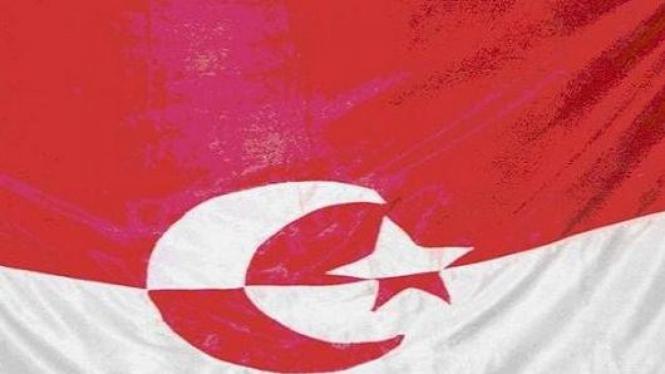 Bendera NII ( Negara Islam Indonesia )