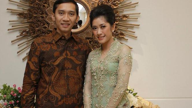Edhie Baskoro Yudhoyono dan Siti Rubi Aliya Rajasa