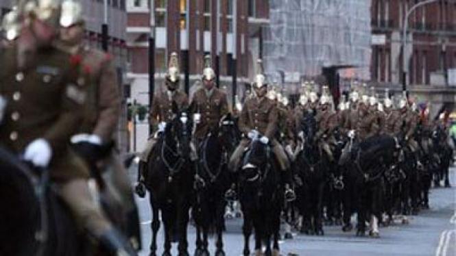 parade militer london