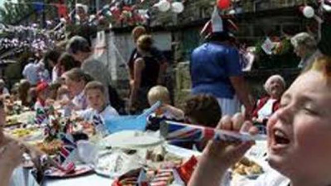 Pesta Jalanan di Inggris