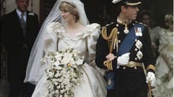 Gaun pengantin Putri Diana