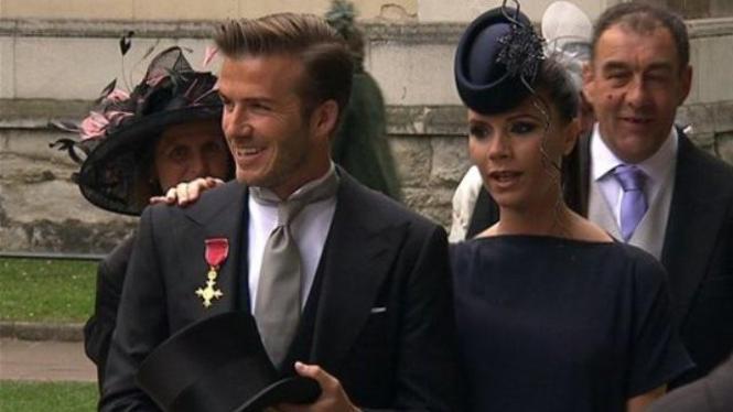 Beckham dan Victoria