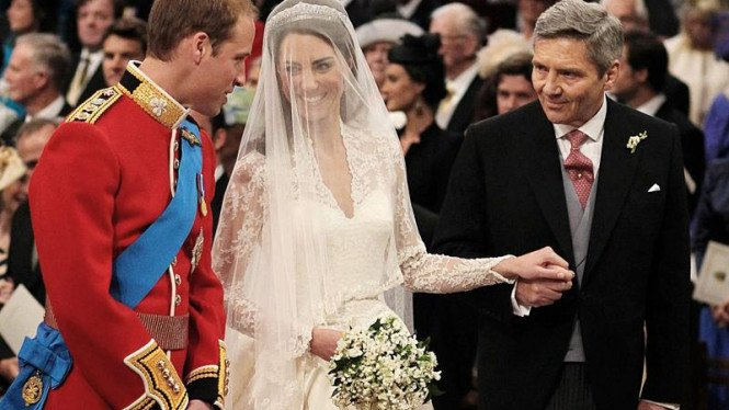 Pesta pernikahan Pangeran William & Kate Middleton