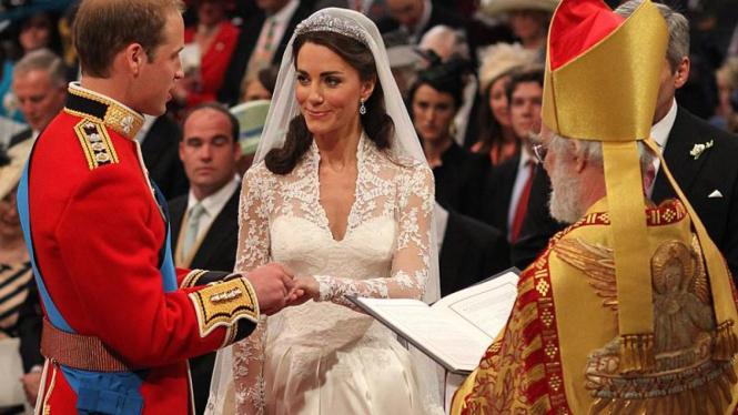 Pesta pernikahan Pangeran William & Kate Middleton
