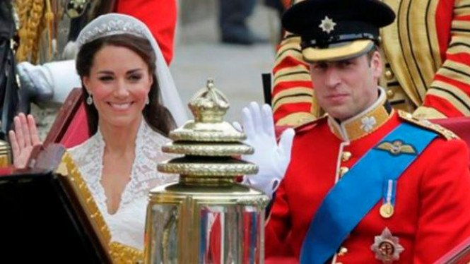 William Kate Kereta Kuda