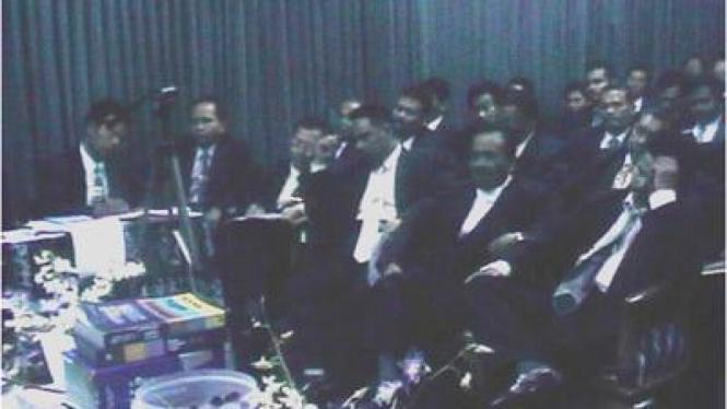 Anggota kabinet NII saat Sidang Majelis Syuro NII 1998