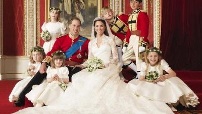 Foto Pernikahan Pangeran William & Kate Middleton