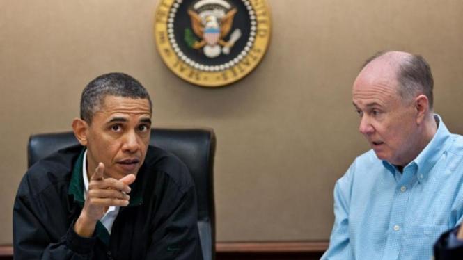 Presiden Barack Obama menggelar rapat terkait operasi militer di Pakistan