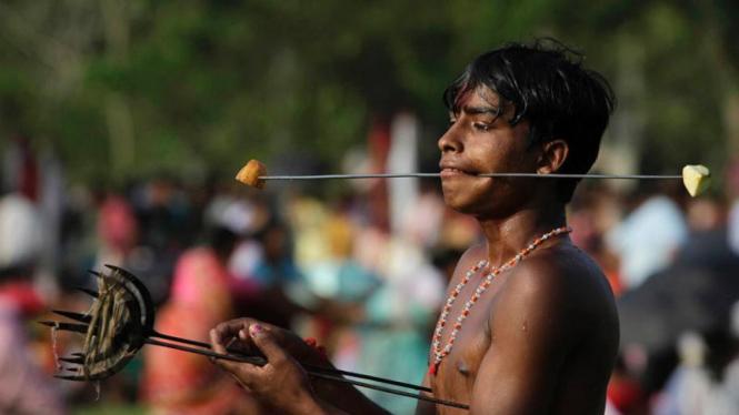 Festival Rongali Bihu di India