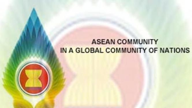 Lambang keketuaan Indonesia di ASEAN.
