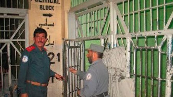 Penjara di Kandahar yang dibobol napi Taliban.