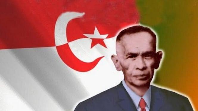 Bendera dan pendiri NII, Kartosoewirjo
