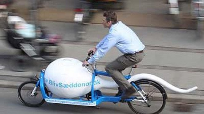 Sepeda Pembawa Sperma