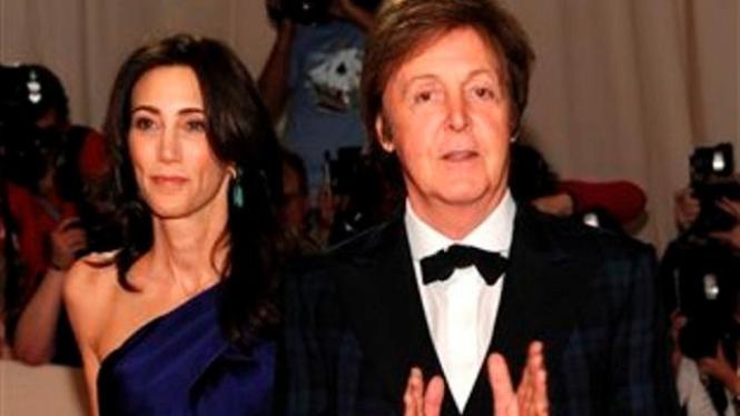 Paul McCartney dan Nancy Shevell