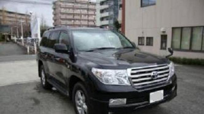 Toyota Land Cruiser yang diduga milik Osama bin Laden