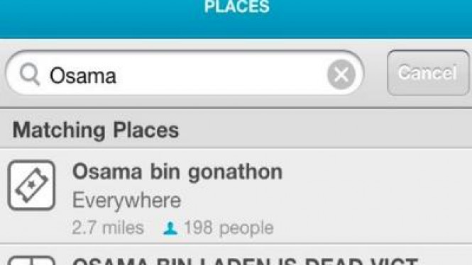 Osama di Foursquare