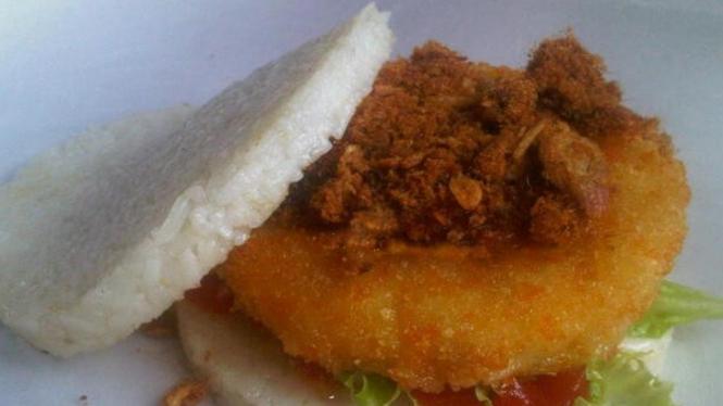 burger nasi
