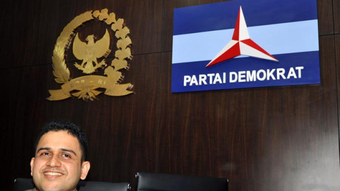 Bendahara Partai Demokrat Muhammad Nazaruddin