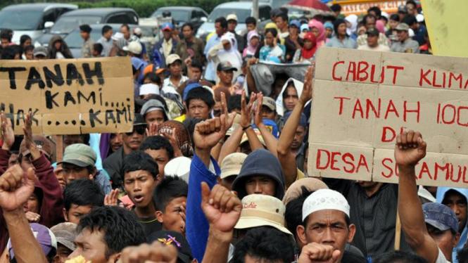 Demo Agraria di DPR
