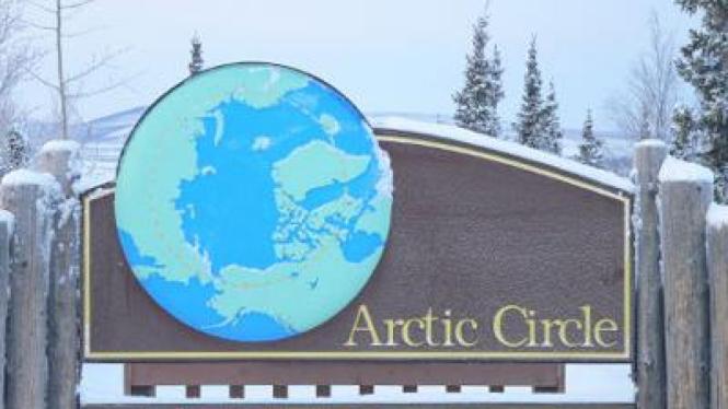 Pepohonan di kawasan Arktika