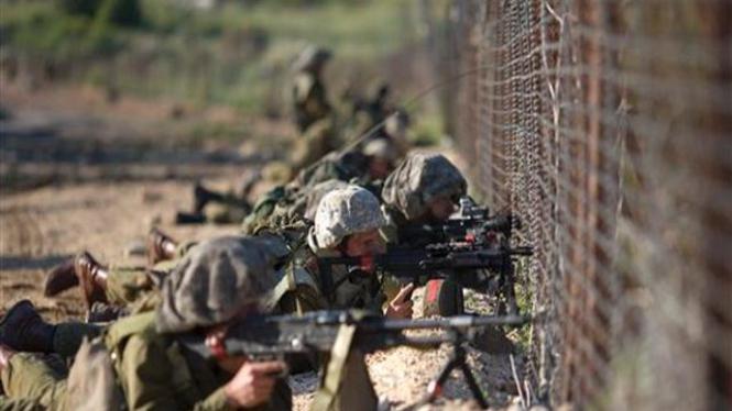 Pasukan Israel bersiaga di dekat perbatasan negara itu dengan Suriah