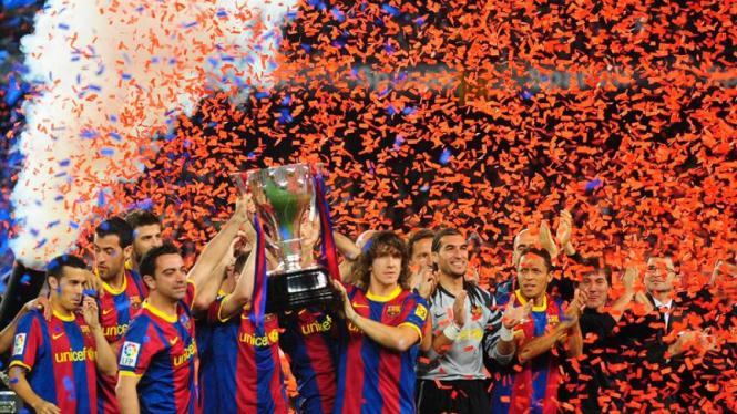 FC Barcelona juara La Liga