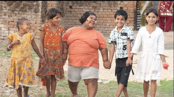 Suman Khatun , bocah tergemuk di dunia