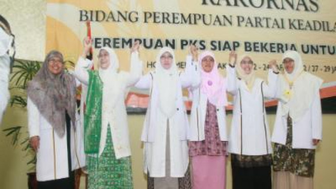Perempuan PKS Bersatu untuk Kokohkan Keluarga