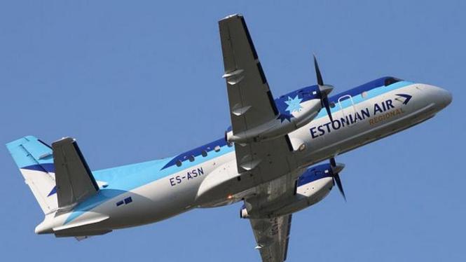 Pesawat Saab 340 milik maskapai Estonian Air