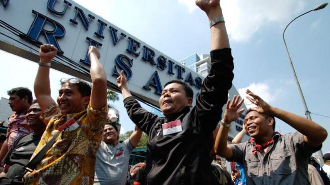 Eksekusi Universitas Trisakti