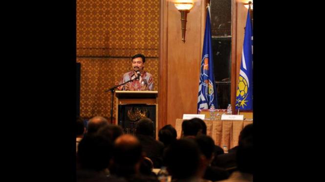 Andi Mallaranggeng di Kongres PSSI 2011