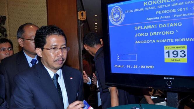Kongres PSSI; Joko Driyono