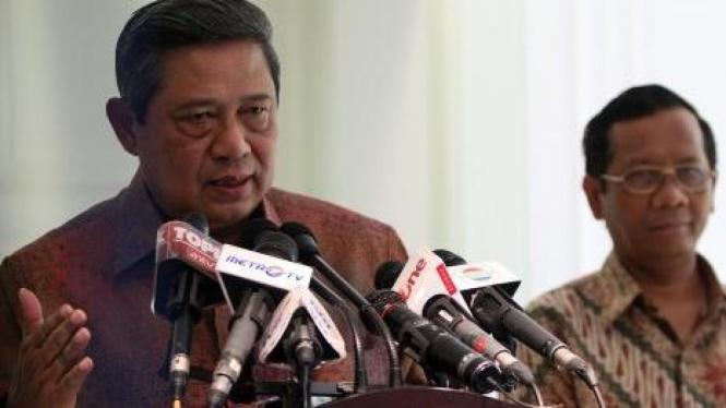 SBY dan Mahfud MD