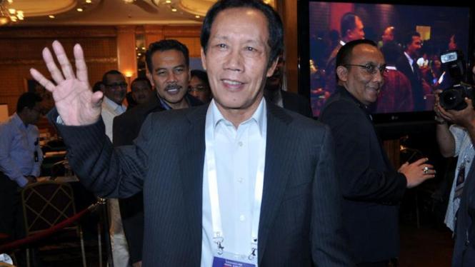 Sutiyoso di Kongres PSSI 2011