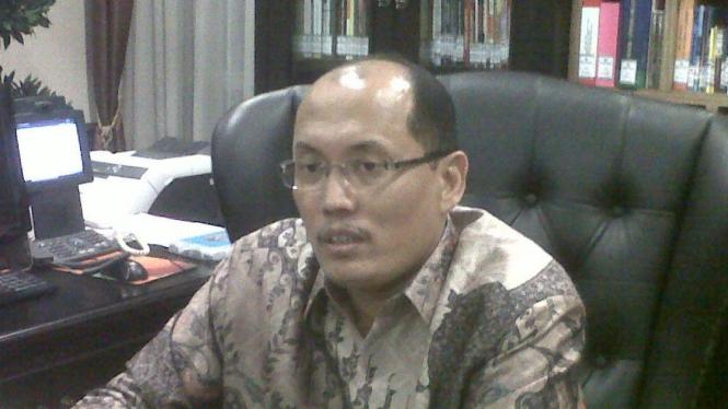 Sekretaris Jenderal Mahkamah Konstitusi Janedjri M Gaffar