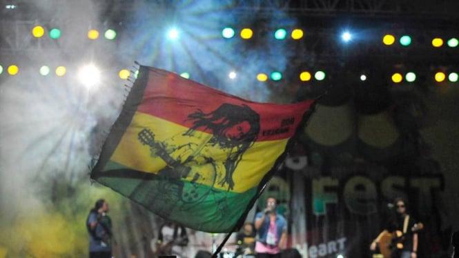 Ilustrasi/Penyanyi legendaris Bob Marley