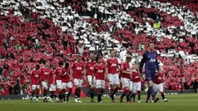 Manchester United di Old Trafford