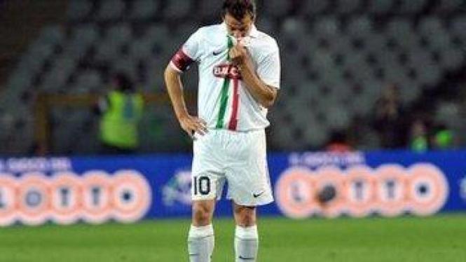 Alessandro Del Piero di pertandingan melawan Chievo