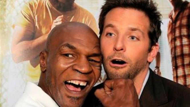 Bradley Cooper dan Mike Tyson