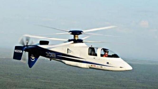 Helikopter Sikorsky X2