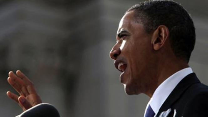 Obama berpidato di Irlandia.