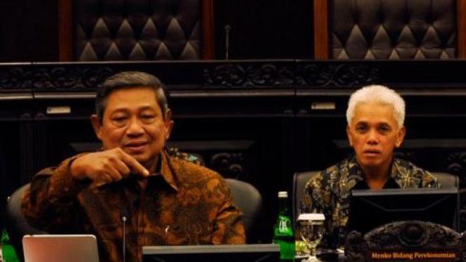 SBY dan Hatta Rajasa