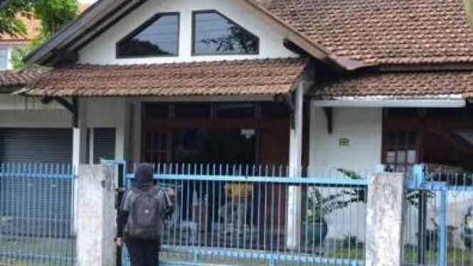 Rumah 'Gubernur' NII Jateng yang Ditahan Polisi