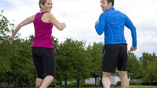 Jogging mundur