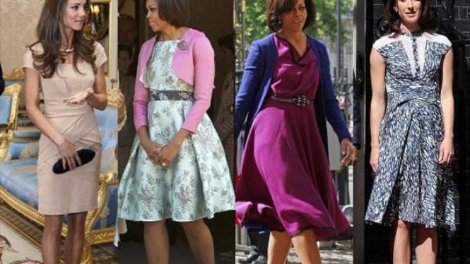 Kate Middleton, Michelle Obama dan Samantha Cameron