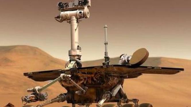 Spirit, robot penjelajah Mars milik NASA