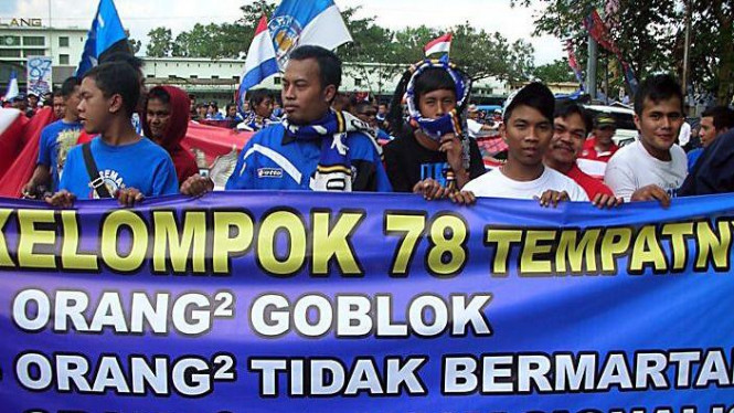 Long march Aremania