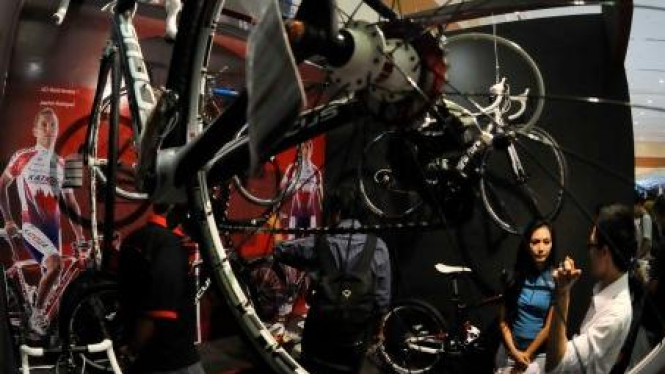 Pameran sepeda bertajuk 'Indonesia International Bicycle Expo'